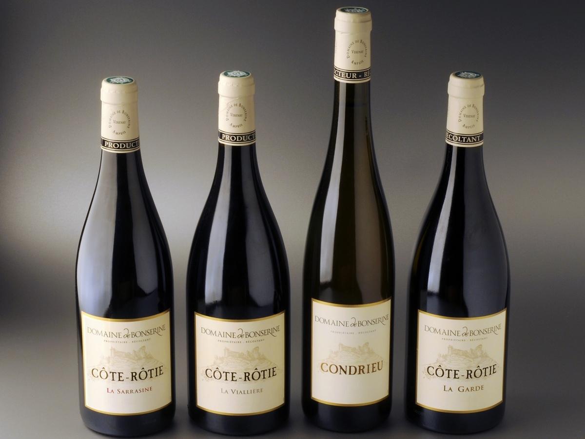 Domaine de Bonserine Propiétaire Récoltant Grands vins de la vallée du Rhône Septentrionale