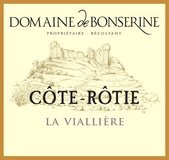 Étiquette du Domaine de Bonserine Côte-Rôtie la Viallière