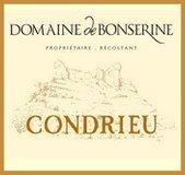 Étiquette du Domaine de Bonserine Condrieu